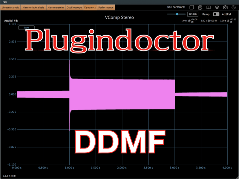 PluginDoctor / DDMF 〜プラグインアナライザーソフトウエア〜