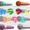ダイナミックマイク定番のSM−58がカラフルに変身!